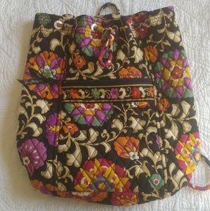 Vera Bradley Drawstring Bookbag